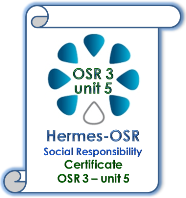 trainne certificate for OSR 3 -unit 5